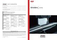 Line Up Grinders - Jtekt