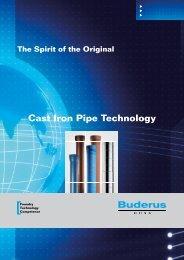 Cast Iron Pipe Technology - Duktus
