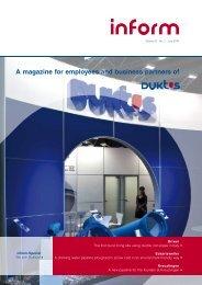 inform 02.2010 e (PDF-file - 3,5 MB - Duktus