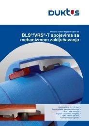 BLS®/VRS®-T spojevima sa mehanizmom zaključavanja - Duktus