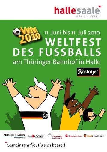WELTFEST DES FUSSBALLS - Mitteldeutsche Zeitung
