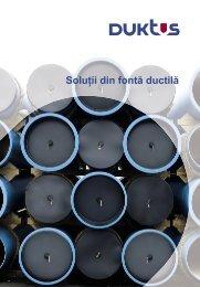 soluţii din fontă ductilă - Duktus
