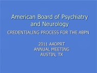 Download - American Board of Psychiatry and Neurology