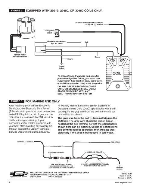 FIGURE 7 EQUIPPED WITH 29 on mallory dist wiring-diagram, mallory carburetor diagram, msd 6al diagram, fairbanks morse magneto diagram, omc ignition switch diagram, atwood rv water heater diagram, basic car electrical system diagram, mallory high fire wiring-diagram, electronic ignition diagram, inboard outboard motor diagram,