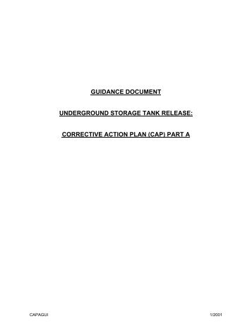 GUIDANCE DOCUMENT - Georgia Environmental Protection Division