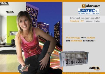 Prostreamer-IP - SATEC