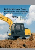 R110-7A Brochure - Hyundai Construction Equipment & Forklift Trucks - Page 3