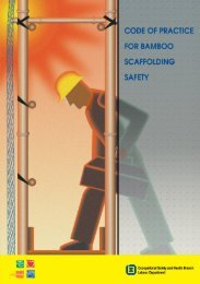 Code of Practice for Bamboo Scaffolding Safety