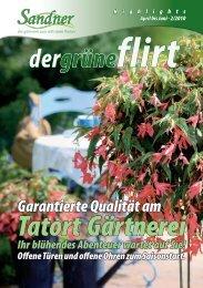 Tatort Gärtnerei - Sandner