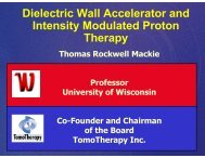 Dielectric Wall Accelerator and Intensity Modulated Proton Therapy
