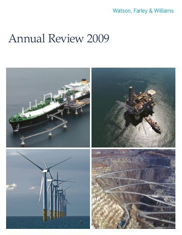 Annual Review 2009 - Watson, Farley & Williams