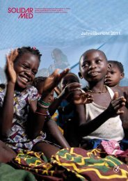 Jahresbericht 2011 - SolidarMed