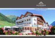 SUN & SPA MOMENTS - Hotel Salnerhof