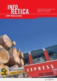 von Info Retica erhalten den «Prellbock - Rhätische Bahn