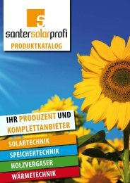 tECHNISCHE datEN - Santer Solarprofi GesmbH