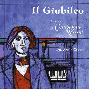 2. Teil - La Compagnia Rossini