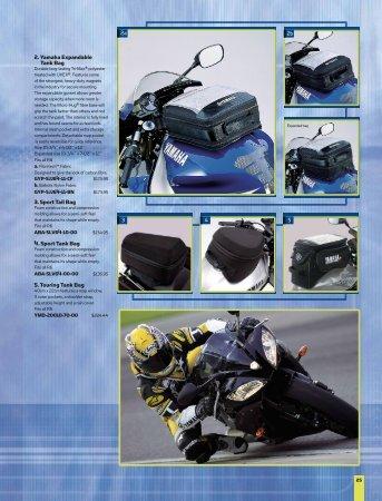 2. Yamaha Expandable Tank Bag 3. Sport Tail - yamaha motor canada