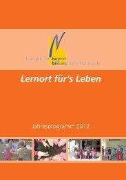 Lernort für's Leben - Evangelische Jugendbildungsstätte Nordwalde