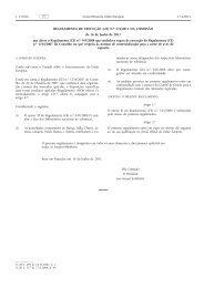 Regulamento de Execução (UE) n.o 576/2011 da ... - EUR-Lex