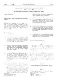 Regulamento de Execução (UE) n.o 663/2012 da ... - EUR-Lex