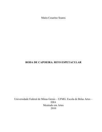 roda de capoeira: rito espetacular - Biblioteca Digital de Teses e ...