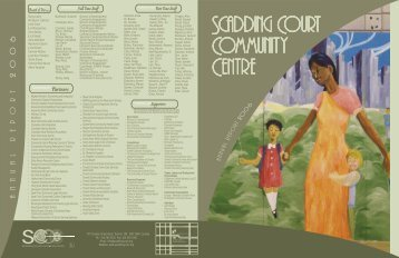 2006 - Scadding Court Community Centre