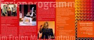 Ferienprogramm - Freies Musikzentrum München