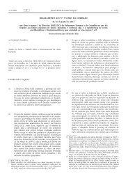 Regulamento (UE) no 574/2011 da Comissão, de - EUR-Lex - Europa