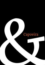 &Capoeira - MA Typeface Design at the University of Reading