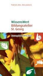 Katalog 2011/2012 - Sozialwerk St. Georg