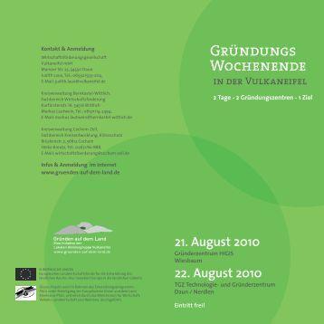 22. August 2010 - MANAGEMENT- & MARKETINGBERATUNG - Dr ...