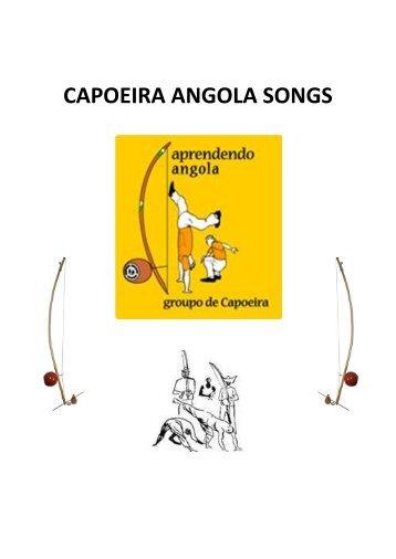[PDF] Capoeira angola songs - Aprendendo Angola