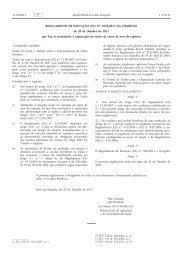 Regulamento de Execução (UE) n.o 1056/2011 da ... - EUR-Lex