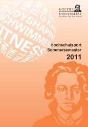 Sommersemester 2011 - Goethe-Universität