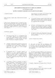 Regulamento de Execução (UE) n.o 48/2012 da ... - EUR-Lex