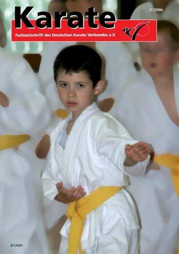 Fachzeitschrift des Deutschen Karate Verbandes e.V. - Chronik des ...