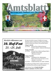 25. Juli - Durbach
