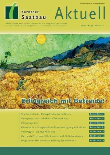 Wintergerste 2012 - Kärntner Saatbau