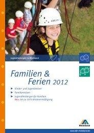 Katalog Ferien 2012 - Deutsches Jugendherbergswerk