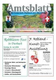 Ausstellung - Durbach