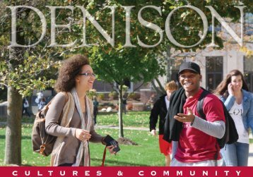 Cultures and Community - Denison University