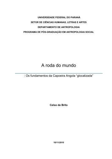 A roda do mundo: os fundamentos da Capoeira - DSpace ...