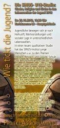 Die SINUS- U18-Studie - Katholisches Jugendreferat Ludwigsburg