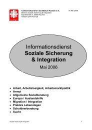 Informationsdienst Soziale Sicherung & Integration - Caritasverband ...