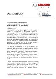 ANSGAR GRUPPE begründet - Kinderkrankenhaus Wilhelmstift