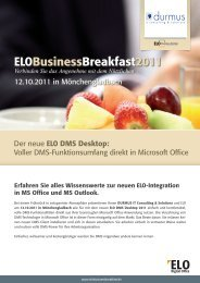 ELO und Microsoft Office - Durmus IT Consulting & Solutions