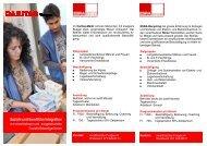Soziale und berufliche Integration - Caritas Thurgau