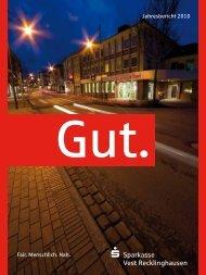 Jahresbericht 2010 Fair. Menschlich. Nah. - Sparkasse Vest