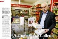 Caritas-Direktor Hugo Fasel, 54, kämpft gegen die ... - Armut halbieren