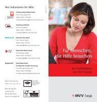 Für Menschen, die Hilfe brauchen - MVV Energie AG